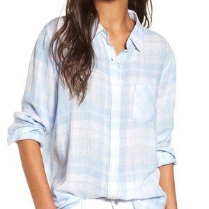 Rails Charli Rockport plaid shirt NWT*